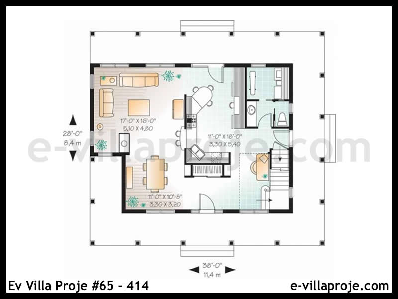 Ev Villa Proje #65 – 414