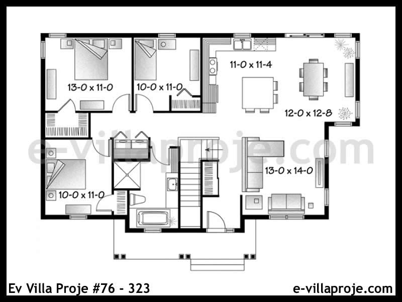 Ev Villa Proje #76 – 323